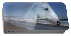 Equine Shores Portable Battery Charger by Athena Mckinzie