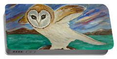Equinox Owl Portable Battery Charger by Victoria Lakes
