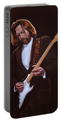 Eric Clapton Painting Portable Battery Charger
