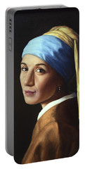 Pearl Earring Portable Battery Chargers