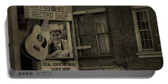 Ernest Tubb Record Shop Portable Battery Charger by Dan Sproul