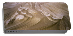 Erosion Reveals Layers Of Sand Portable Battery Charger