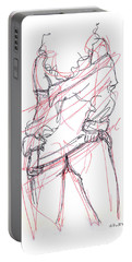 Erotic Art Drawings 6 Portable Battery Charger