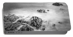 Portable Battery Charger featuring the photograph Estacas Beach Galicia Spain by Pablo Avanzini