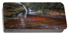 Portable Battery Charger featuring the photograph Ethereal Autumn by Bill Wakeley
