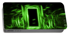 Ethereal Doorways Green Portable Battery Charger