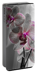 Ethereal Orchid Portable Battery Charger
