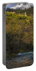 Portable Battery Charger featuring the photograph Eume River Galicia Spain by Pablo Avanzini