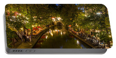 Evening Canal Dinner Portable Battery Charger