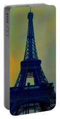 Evening Eiffel Tower Portable Battery Charger