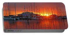 Portable Battery Charger featuring the photograph Evening Light by HH Photography of Florida