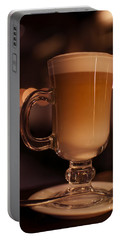 Portable Battery Charger featuring the photograph Evening Refreshments by Miguel Winterpacht