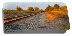 Evening Tracks Portable Battery Charger
