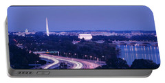 Evening Washington Dc Portable Battery Charger