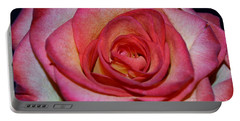 Event Rose Portable Battery Charger by Felicia Tica