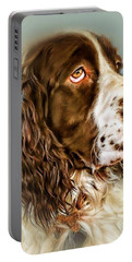 Ever Watchful English Springer Spaniel Portable Battery Charger