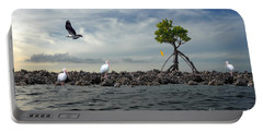 Portable Battery Charger featuring the photograph Everglade Scene by Dan Friend