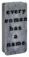 Every Woman Has A Name Excerpt Portable Battery Charger