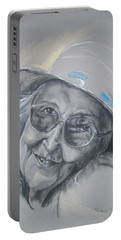 Everybodys Grandma Portable Battery Charger by Peter Suhocke