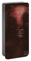 Evil Greek Mythology Minotaur Portable Battery Charger by Jorgo Photography - Wall Art Gallery