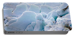 Exit Glacier At Harding Ice Field Portable Battery Charger