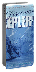 Exoplanet 02 Travel Poster Kepler 22b Portable Battery Charger