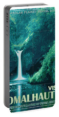 Exoplanet 04 Travel Poster Fomalhaut B Portable Battery Charger
