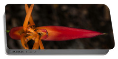 Exotic Heliconia Portable Battery Charger by Steven Sparks