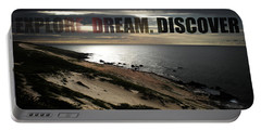 Explore. Dream. Discover Portable Battery Charger