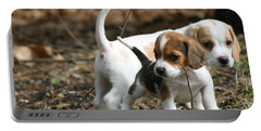 Exploring Beagle Pups Portable Battery Charger
