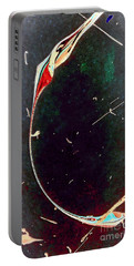 Portable Battery Charger featuring the painting Exploring New Depths by Jacqueline McReynolds