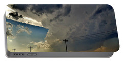 Explosive Texas Supercell Portable Battery Charger by Ed Sweeney