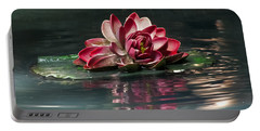 Portable Battery Charger featuring the photograph Exquisite Water Flower  by Lucinda Walter