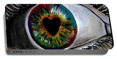 Eye Love You Portable Battery Charger