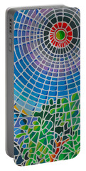 Portable Battery Charger featuring the digital art Eye Of God by Anthony Mwangi