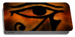 Eye Of Horus Eye Of Ra Portable Battery Charger