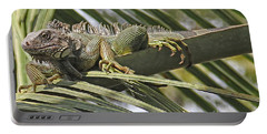 Eye Of The Iguana Portable Battery Charger