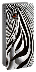 Eye Of The Zebra Portable Battery Charger