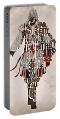 Ezio Auditore Da Firenze From Assassin's Creed 2  Portable Battery Charger