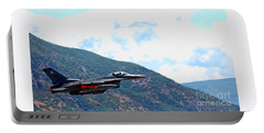 F-16 Flyby Portable Battery Charger