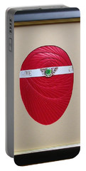 Portable Battery Charger featuring the mixed media Faberge Egg 1 by Ron Davidson