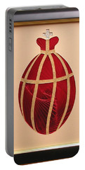 Portable Battery Charger featuring the mixed media Faberge Egg 2 by Ron Davidson