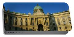 Facade Of A Palace, Hofburg Palace Portable Battery Charger