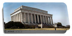 Facade Of The Lincoln Memorial, The Portable Battery Charger by Panoramic Images