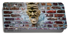 Face Fountain In Pirates Courtyard Portable Battery Charger