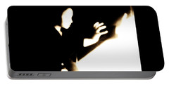 Portable Battery Charger featuring the photograph Faceless Magician  by Jessica Shelton