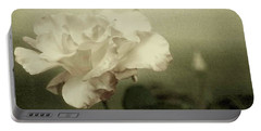 Portable Battery Charger featuring the photograph Faded Rose by Mary Wolf