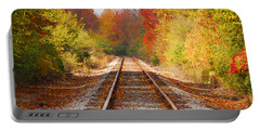 Fading Tracks Portable Battery Charger