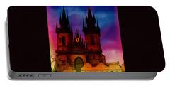 Fairy Tale Castle Prague Portable Battery Charger