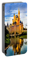 Fairy Tale Twilight Portable Battery Charger by Greg Fortier